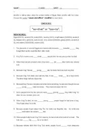 Printables Japanese Grammar Worksheets cause and effect adjective modifiers sothat tooto while learning about egypt