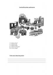 English Worksheets: Is there?