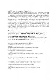 English Worksheets: Intermediate revision