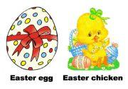 English Worksheet: Easter flashcards