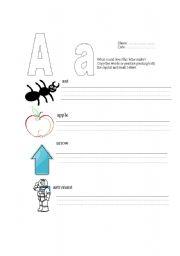 English teaching worksheets: Jolly phonics