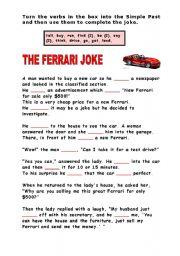 The Ferrari Joke