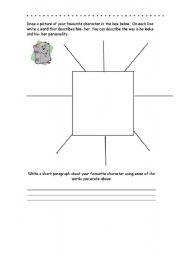 English Worksheets: Spidergrams templates
