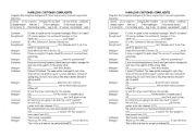 English Worksheet: complaints