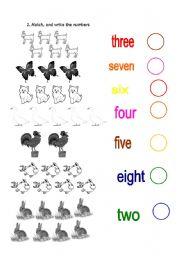 English Worksheets: farm animals II