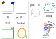 English Worksheets: This is me! book