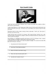 A piece of Kurt Cobain