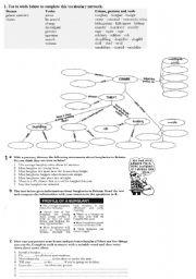crime vocabulary worksheet by szefik23. Black Bedroom Furniture Sets. Home Design Ideas