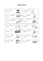 measurements esl worksheet by. Black Bedroom Furniture Sets. Home Design Ideas