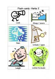 English Worksheets: Verbs2