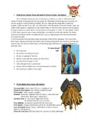 English Worksheet: final exam - 6th form - Pirates of the Caribbean
