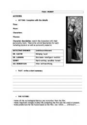 English Worksheet: I-Robot