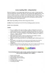 English Worksheets: asking questions!!!