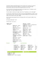 English Worksheets: chiste