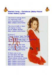 Mariah Carey - Christmas (Baby Please Come Home) Lyrics