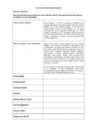 English Worksheets: The New Naysayers
