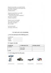 English Worksheet: Brecht-Untitled Poem