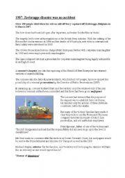 English Worksheets: Herald Of Free Enterprise