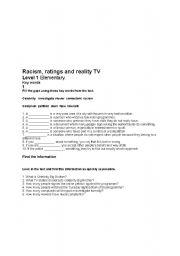 Worksheets Racism Worksheets english teaching worksheets racism racism