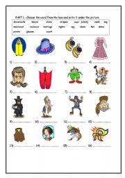 Preschool activities sheets