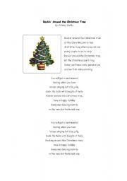 Rockin´ Around the Christmas Tree - ESL worksheet by Skibear101