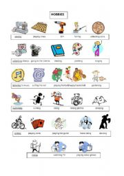 hobbies vocabulary worksheet esl worksheet by crazyorwhat. Black Bedroom Furniture Sets. Home Design Ideas