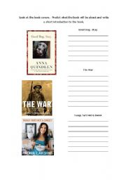 English Worksheet: Making Predictions