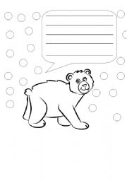 when will it be spring literacy worksheet speech bubbles. Black Bedroom Furniture Sets. Home Design Ideas