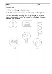 Worksheet Traffic Signs Worksheets english teaching worksheets traffic signs signs