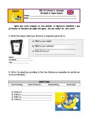 English Worksheets: english revisions