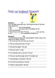 English Worksheets: Indirect_Speech