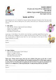 English Worksheet: Marriage
