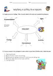 English Worksheets: Writing a Letter to a Friend