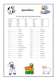 ... additionally Quantifiers Worksheet. on quantifiers worksheet advanced