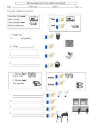 Exercises Worksheets Pdf - subject and object pronouns worksheets ...