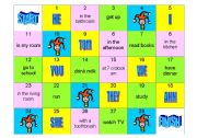 English Worksheet: DAILY ROUTINE AND TELLING THE TIME