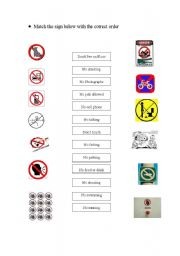 English Worksheets: Command
