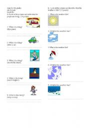English Worksheets: quizfor6th.doc