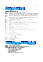 English Worksheets: tennager problems