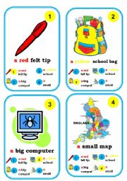 English Worksheet: Go fish card game