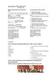 English Worksheets: Movie Activity: Stranger than Fiction (part 4 out of 4)