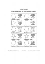 Printables Classifying Polygons Worksheet english worksheets classify polygons worksheet polygons