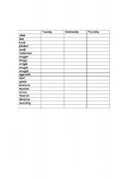 English Worksheets: Look,Cover Write,Check