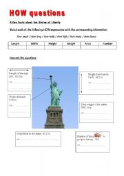 English Worksheets: HOW questions