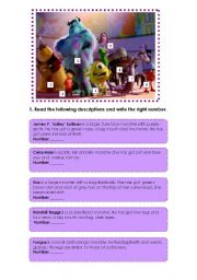 Monsters Inc. description