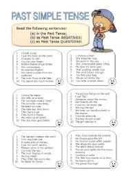 English Worksheet: Past Simple Tense