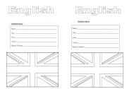 English Worksheets: Identification worksheet