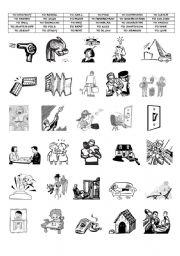 English Worksheets: ACTION VERBS ( PART 4/8)