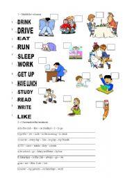 English Worksheet: TEST ON PRESENT SIMPLE