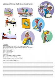 English Worksheets: P�CTURE COMPOS�T�ON